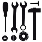 9098832-a-set-of-tools-for-repairs-vector-illustration
